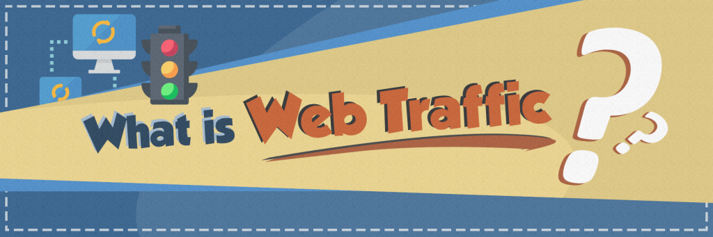 What is web traffic Header image